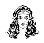 Wonder Woman Da Colorare Disegnidacolorare It