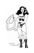 Wonder woman da colorare 53