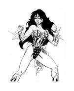 Wonder woman da colorare 54