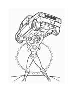 Wonder woman da colorare 77