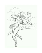 Wonder woman da colorare 78
