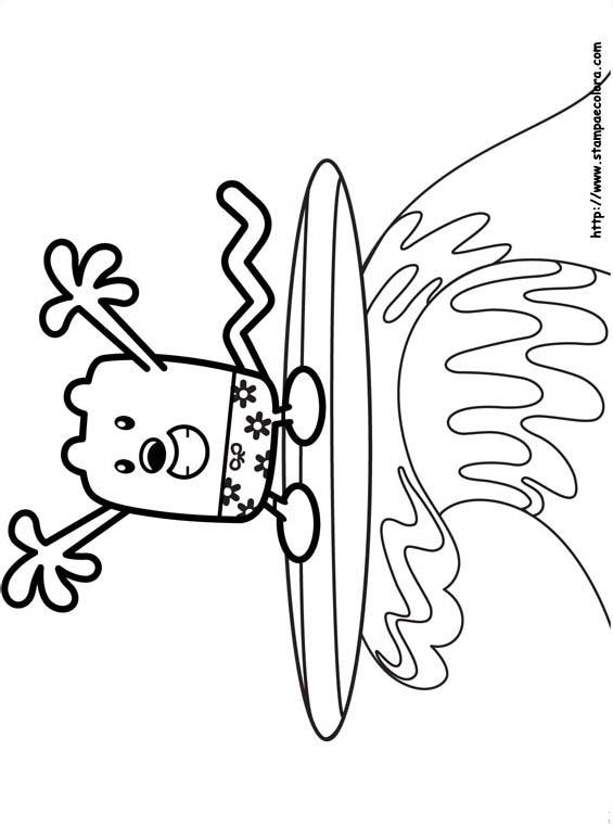 Wubbzy da colorare 2