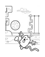 Wow! Wow! Wubbzy! da colorare 4