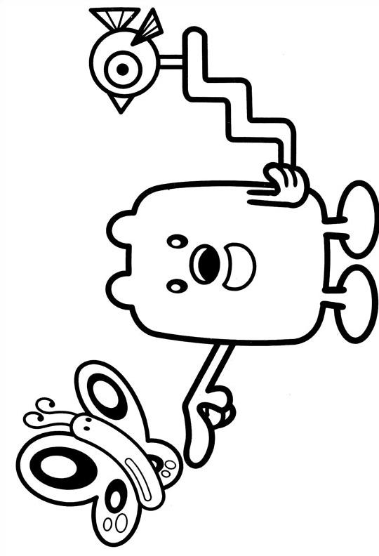 Wubbzy da colorare 6