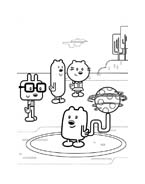 Wow! Wow! Wubbzy! da colorare 9