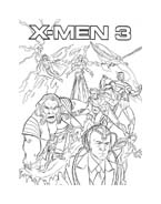 X-Men da colorare 15