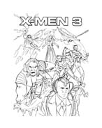 X-Men da colorare 20