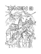 X-Men da colorare 50
