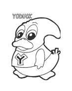 Yokomon da colorare 28