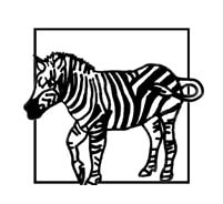 Zebra da colorare 28