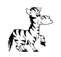 Zebra da colorare 30