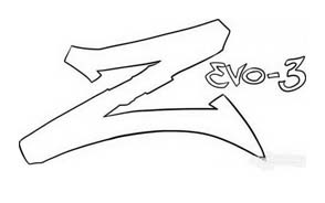 Zevo-3 da colorare