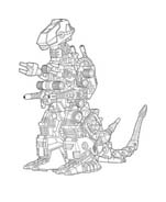 Zoids da colorare 5