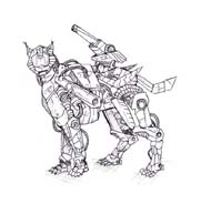 Zoids da colorare 8