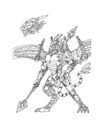 Zoids da colorare 9