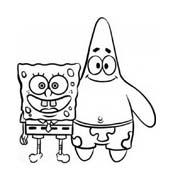 Spongebob da colorare 220
